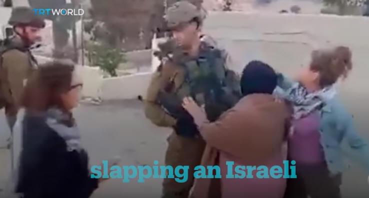 slapping